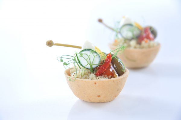Switch Eat - coupelle comestible et compostable tomate garnie