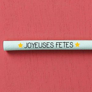 "Switch Eat - zoom paille comestible et compostable ""Joyeuses fêtes"" 500x500"