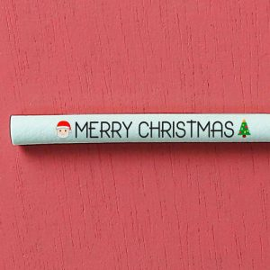 "Switch Eat - zoom paille comestible et compostable ""Merry Christmas"" 500x500"